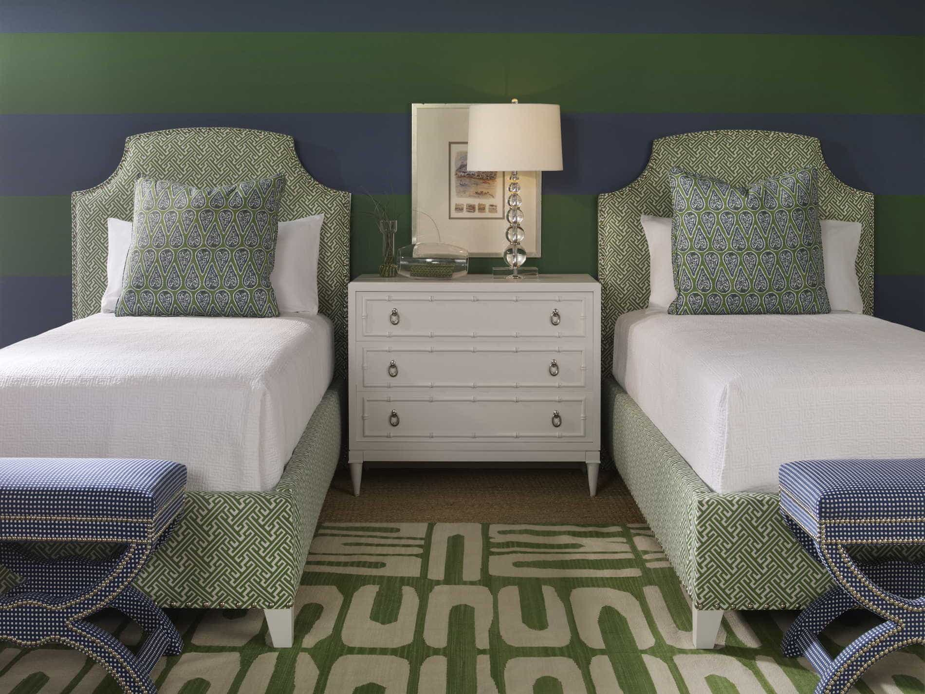 Tips to make a room look bigger from Krissy Millner