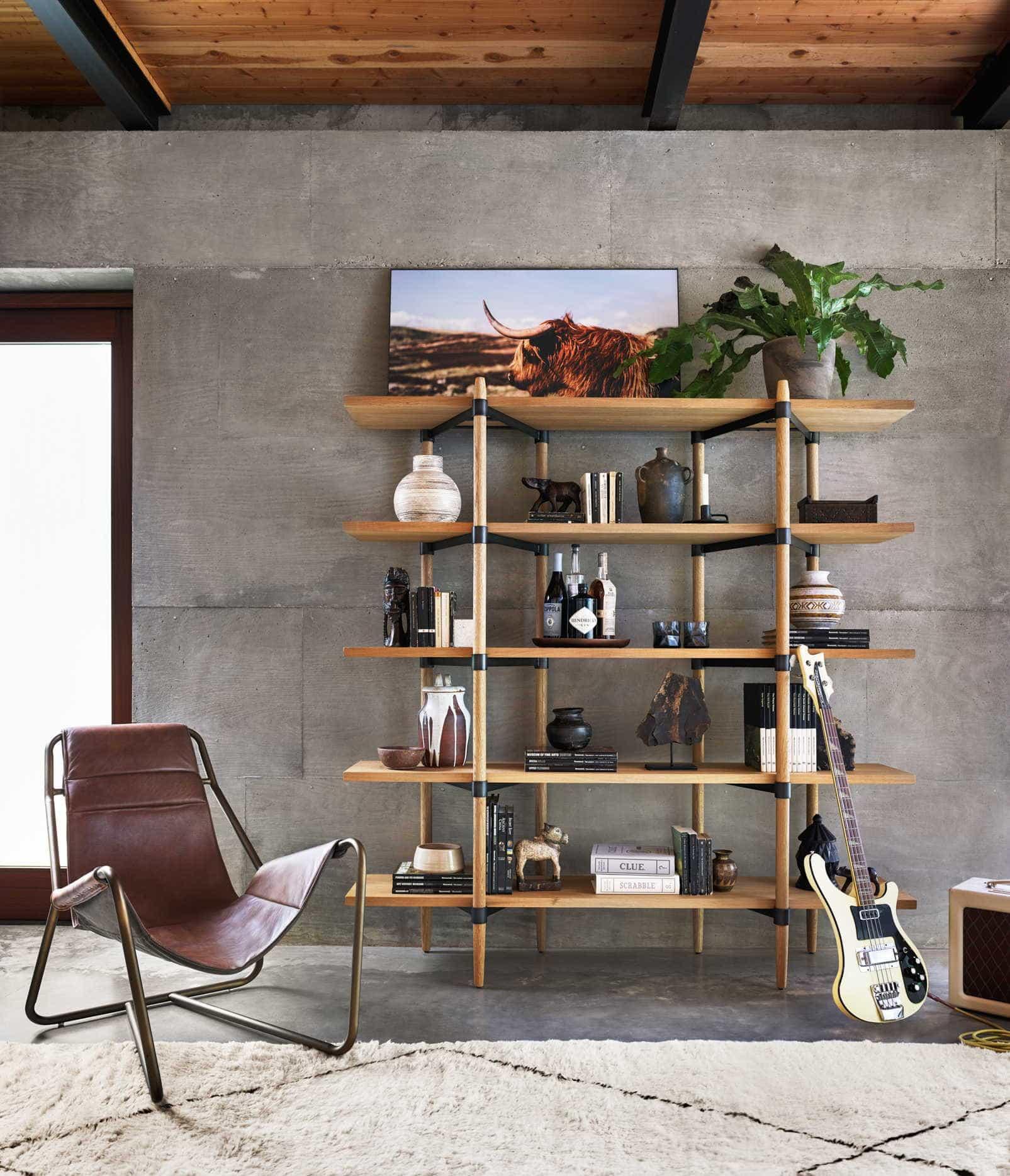 Terra Firma Home interior designer Krissy Millner muses on bookcases and bookshelves.